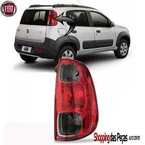 Lanterna Fiat Uno Novo Fume  LD ou LE 5202789