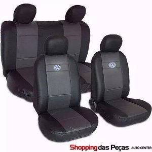 Capa Para Banco Do Carro Volkswagen (Nylon Com Curvin)
