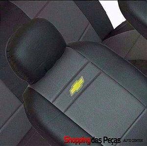 Capa Para Banco Do Carro Chevrolet (nylon Com Curvin)