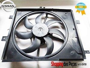 Eletro Ventilador Ventoinha Radiador Nissan March 214031h53a