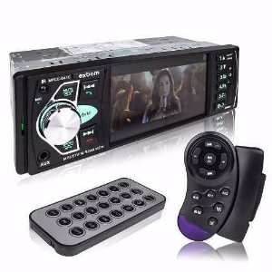 Mp3 Player Automotivo Bluetooth Tela 4 Mp5 Usb Con Volante