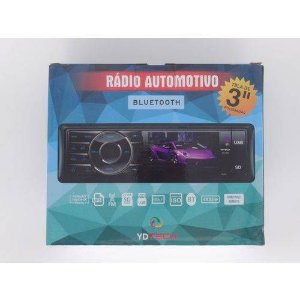 Rádio Automotivo Ydtech Bluetooth