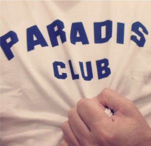 Paradis Club T-shirt (blue)