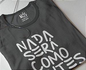 Nada será como antes |  t-shirt & babylook