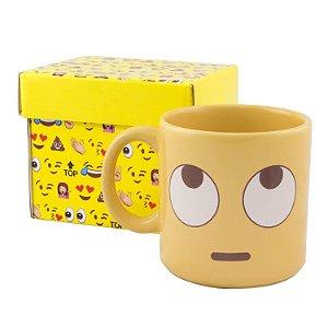Caneca Divertida Emoji - Olhos