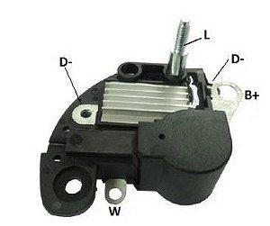 Regulador de Voltagem Palio Siena Tempra Punto Uno Uno Way Marea Corsa Prisma Celta