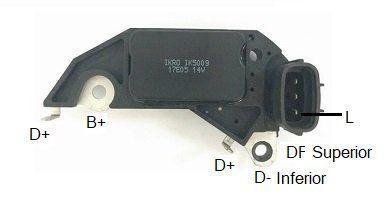 Regulador de voltagem Chery Tiggo Delco