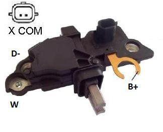 Regulador de Voltagem Renault Fluence Sistema Bosch IK5287