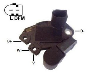Regulador de Voltagem MB C320 CLK320 VW Gol Golf Polo G5 Passat Alemão