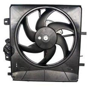 Ventilador do Radiador com defletor C3 2003 à 2009