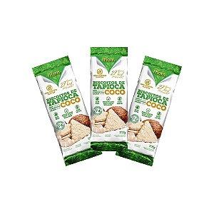 Biscoito Tapioca Coco 3unid.