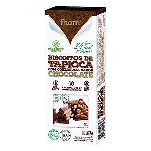 Biscoito de Tapioca c/ Chocolate 30g - 2 unidades