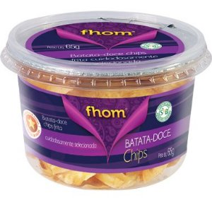 Batata Doce Chips 65g Pote