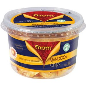 Mandioca Chips 65g Pote