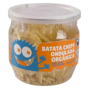 Snack de Batata Chips Ond Orgânica kids