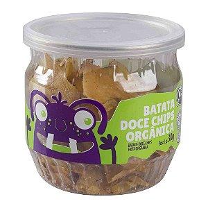 Snack de Batata Doce Chips Orgânica