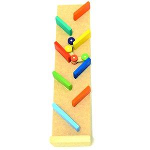 Brinquedos educativos 18 meses - pista zig zag