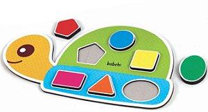 Brinquedos educativos 1 ano - Encaixa figuras da tartaruga