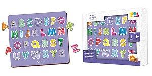 Brinquedos educativos 4 anos - alfabeto quebra-cabeça