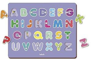 Quebra-cabeça Alfabeto - Quebra-cabeça com Pinos