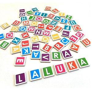 Brinquedos educativos 4 anos - Formando Palavras