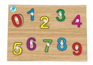 Quebra-cabeça com pinos - Quebra-cabeça dos Numerais