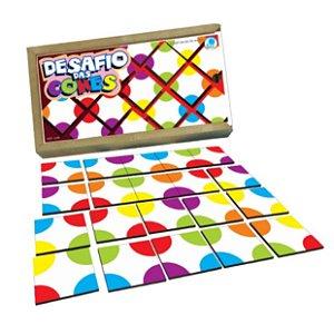 Brinquedo educativo 4 anos - Desafio das Cores
