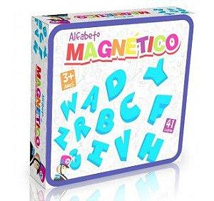 Alfabeto Completo - Letras em EVA - Brinquedo Magnético