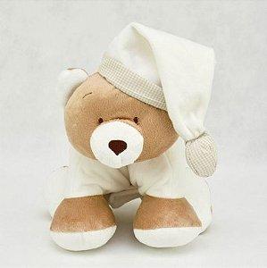 Bichinho de pelúcia para bebê - Urso travesseiro