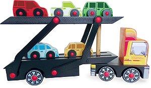 Caminhão de brinquedo - caminhão cegonha