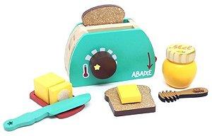 Comidinha de brinquedo - Kit Torradeira de Brinquedo