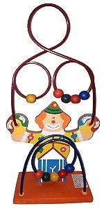 Brinquedo Aramado Infantil - Montanha Pedagógica Palhacinho