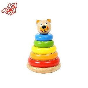 Torre de Argolas do Urso - Blocos para Encaixe