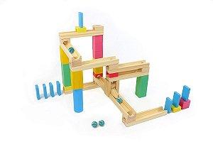 Brinquedo Educativo Corrida de Bolinha