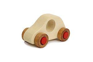 Brinquedo Educativo Carrinho de Brinquedo de Madeira