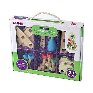 Brinquedo Educativo de Madeira Inventando e Consertando