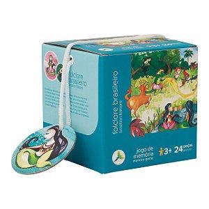 Brinquedo Educativo Jogo da Memória Folclore Brasileiro