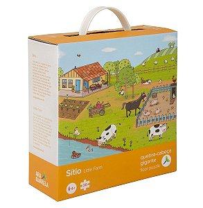 Quebra-cabeça Infantil Gigante Fazenda - 36 Peças