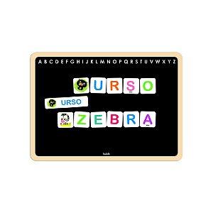 Brinquedo Educativo Quadro Infantil Letras do Alfabeto