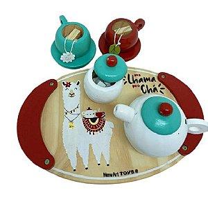 Brinquedo Educativo Kit Chá da Tarde