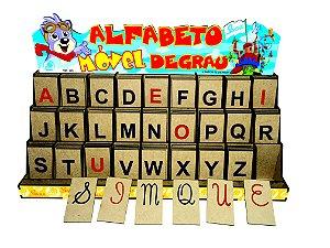 Alfabeto Móvel Degrau - Brinquedos Alfabetização