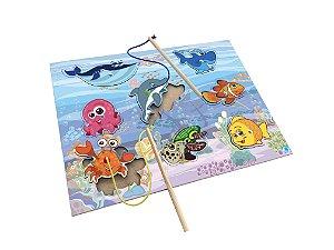 Brinquedo Pescaria Infantil - Brinquedos de Encaixar