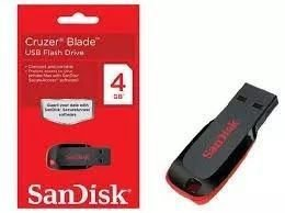Pendrive SanDisk 4GB