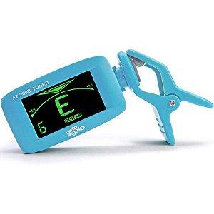 Afinador Cromatico At-200b Santo Angelo Clipe Bateria Azul Bebê