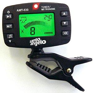 Afinador Metrônomo Cromático Digital Santo Angelo Amt530