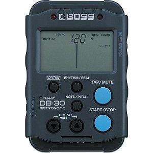 Afinador Metrônomo Digital Boss DB30