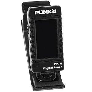 Afinador Punk'd Pk6 Cromático Digital De Clip