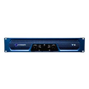 Amplificador Crown T10 1350W 2 Canais Azul