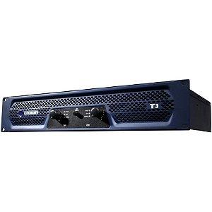 Amplificador Crown T3 450w 2 Canais Azul