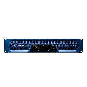 Amplificador Crown T7 950W 2 Canais Azul